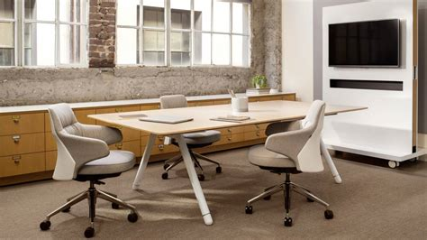 contemporary wood office furniture contemporary furniture by coalesse steelcase