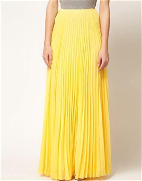 mango mango pleat maxi skirt at asos