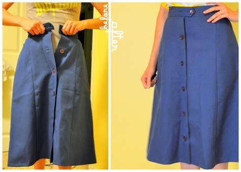 one way to make a skirt bigger