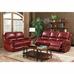 walker top grain leather power reclining sofa and loveseat