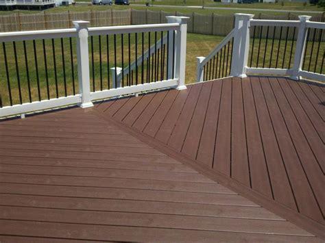 design pattern rails trex composite decking vinyl rail system black aluminum