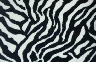 Zebra Print Cowhide Rug Animal Print Carpet For Different Look