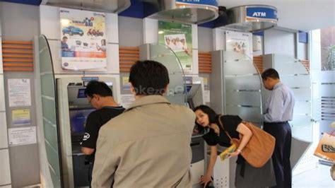 Mesin Pencetak Kartu Atm bi akan terapkan mesin atm untuk semua kartu okezone ekonomi