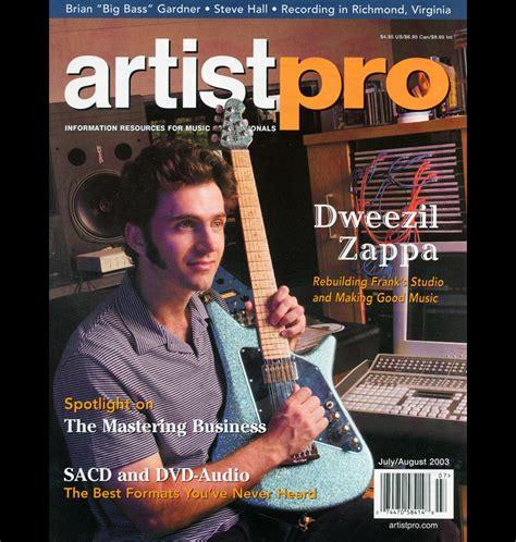 cancel magazines dweezil zappa artist pro cover b annamaria disanto