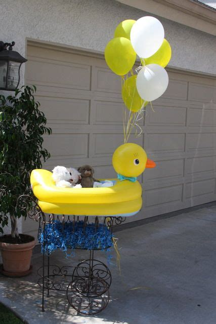 Rubber Duck Decorations by Photo 4 Of 22 Rubber Ducks Baby Shower Sip See Quot Mel S