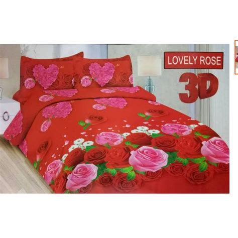 180 Sprei Bonita Lovely No 1 sprei uk 180x200 bonita lovely shopee indonesia