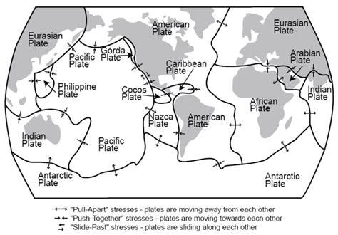 plate tectonics diagram worksheet plate tectonics map worksheet free worksheets library