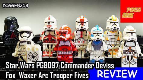 Bootleg Lego Starwars Finn Trooper lego wars pogo bootleg pg8097 commander deviss fox waxer arc trooper fives review 4k