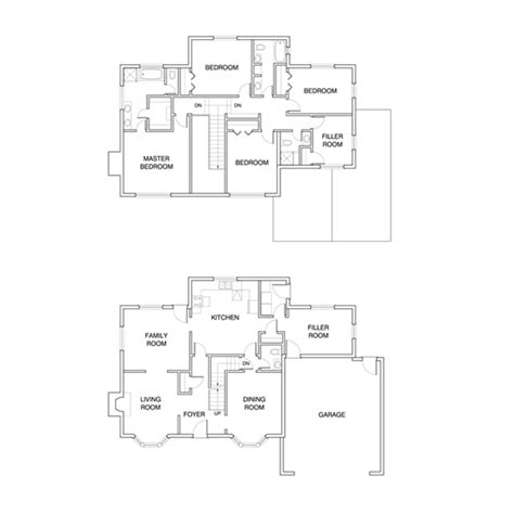 Conrad Gartz Design Blog Blueprint Of Simpsons House