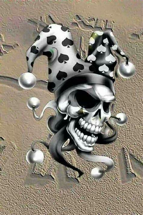 imagenes de calaveras joker joker joker joker clowns jesters pinterest