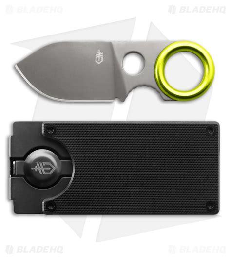 gerber money clip knife gerber gdc money clip w fixed blade knife blade hq