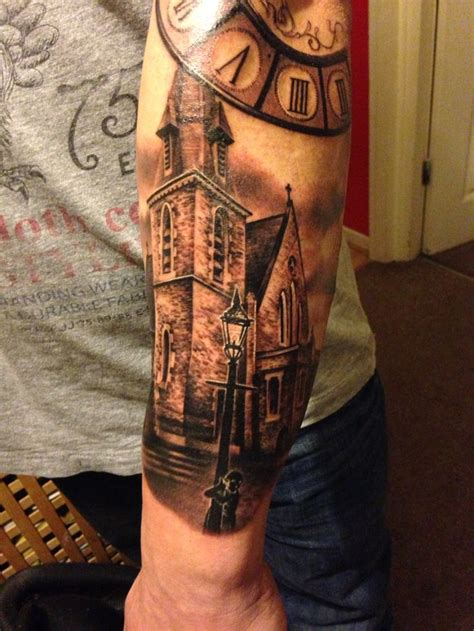 church tattoos church and