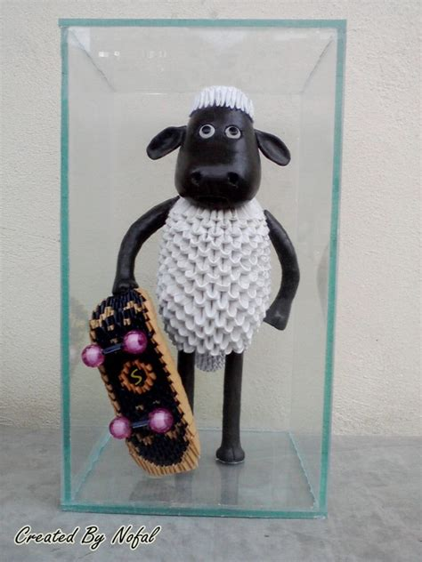 3d Origami Sheep - shaun the sheep album mohammad nofal 3d origami