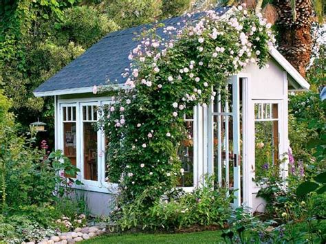 Backyard Cottages by Garden Cottages And Small Sheds For Your Outdoor Space