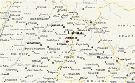 regional map local map detailed map lahore location guide