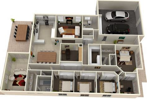 home design 3d 4 1 1 3d modern house plans collection
