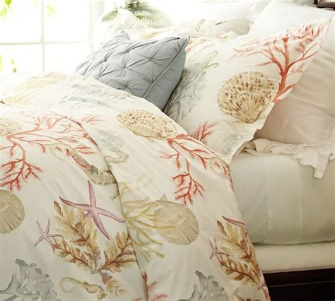 hawaiian bedding atlantic duvet cover sham tropical bedding by pottery barn