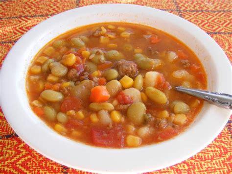 simple hamburger vegetable soup recipe food com
