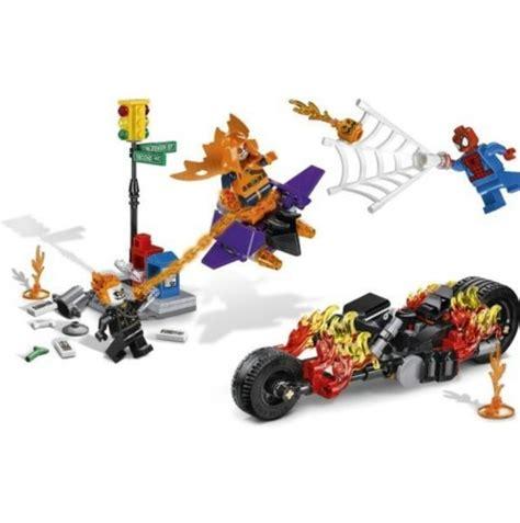 lego marvel superheroes for sale lego marvel super heroes spider man ghost rider team up