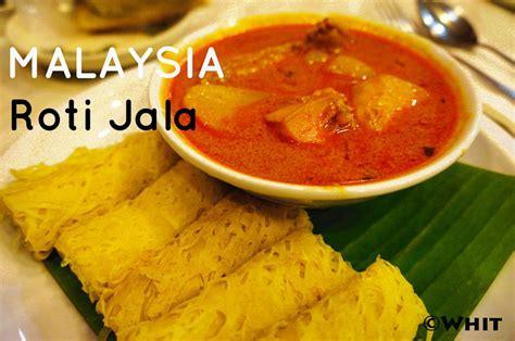 roti jala malaysian food travel blog
