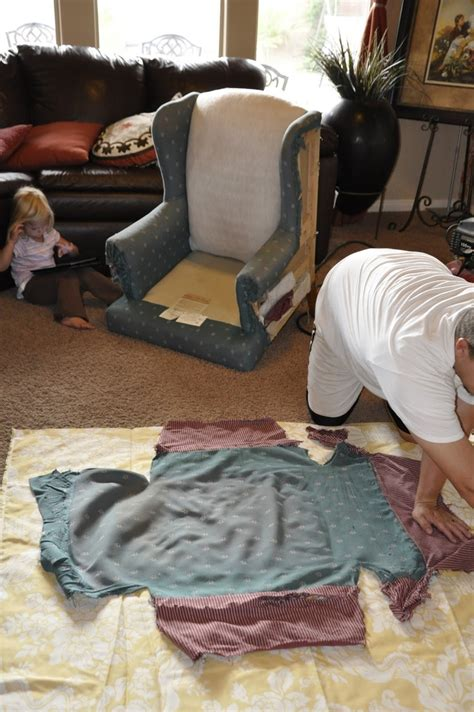 How To Upholstery A Chair - upholstering a wing back chair upholstery tips diy