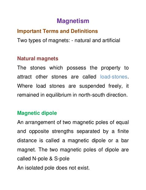 notes on recent researches in electricity and magnetism intended as a sequel to professor clerk maxwell s treatise on electricity and magnetism classic reprint books 11th physics notes magnetism
