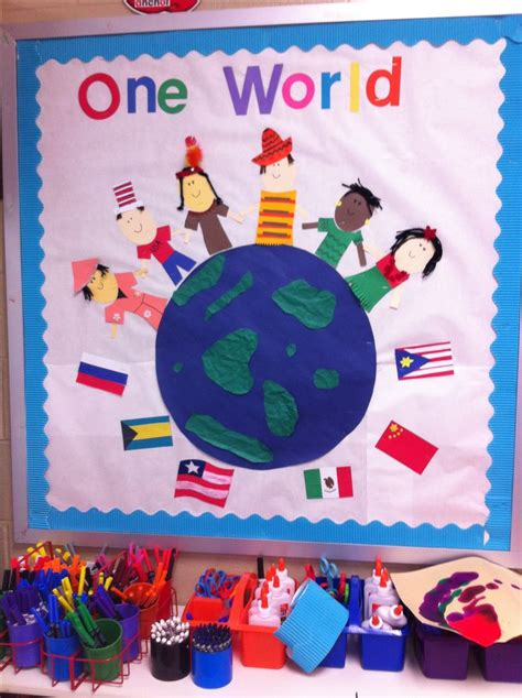 Themes For College Culturals | 1000 ideas about world bulletin board on pinterest