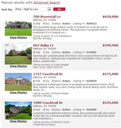 houses for sale hebron in rivershore farms in hebron ky homes for sale