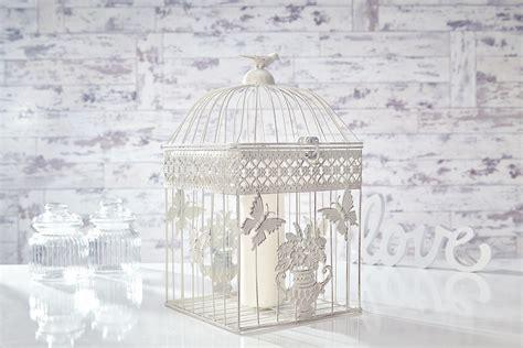 wedding shabby chic birdcage centrepieces bird cage candle