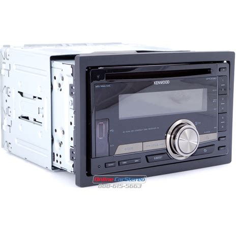 kenwood dpx308u 2din in dash cd mp3 receiver with front