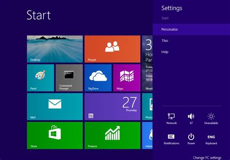 wallpaper for windows 8 1 start screen personalize then you can see the desktop wallpaper as