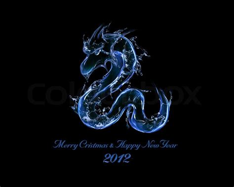 new year 2012 water meaning 2012 is year of black water liquid concept of new