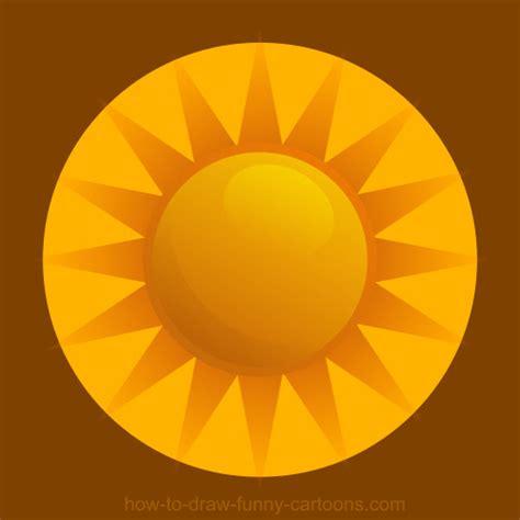 drawing  sun vector illustration