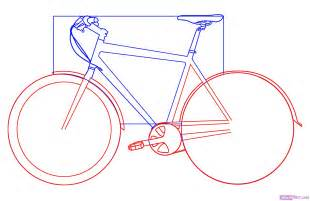 Bike Frame Template by How To Draw A Bicycle Step By Step Stuff Pop Culture