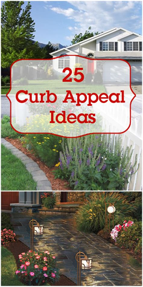ideas for curb appeal remodelaholic 25 curb appeal ideas