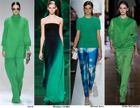 style green green style