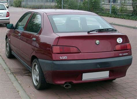 Alfa Romeo 146 by 1994 Alfa Romeo 146 1 6 Related Infomation Specifications