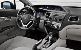 sports cars honda civic 2013 interior