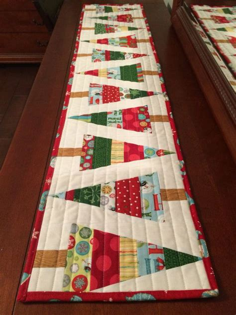pattern for christmas tree table runner 17 best images about quilt table runner patterns on