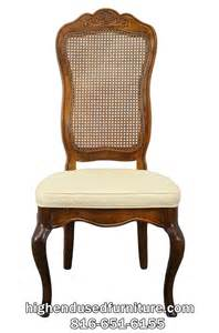 Thomasville Furniture Dining Room American Drew Country French Cane Back Dining Side Chair
