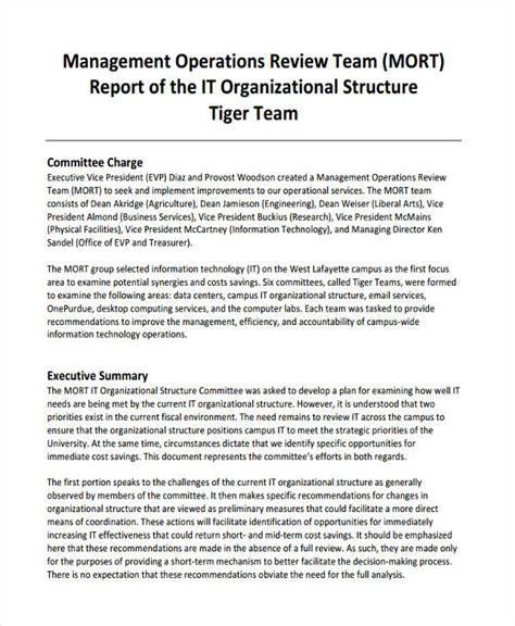 format of a management report 25 management report examples pdf word apple pages