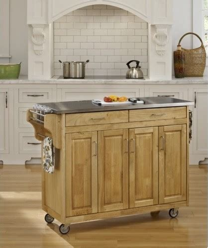 kitchen islands stainless steel top create a cart kitchen cart with stainless steel top