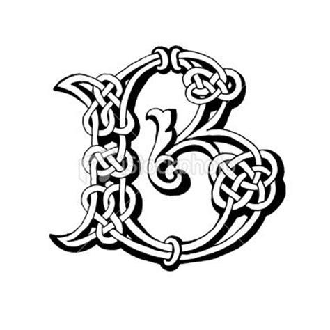 tattoo letters celtic celtic letter b royalty free stock photo celtic art