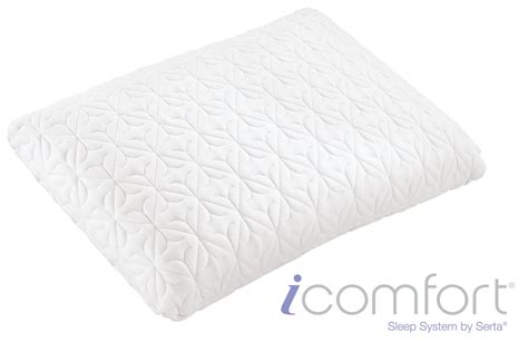 i comfort pillow icomfort 174 directions queen pillow by serta 174 at gardner white