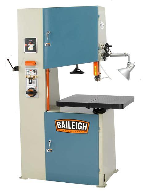 baileigh bsv vertical bandsaw