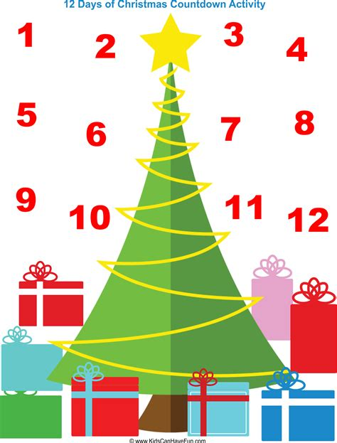 What Calendar Days Are The 12 Days Of 12 Days Of Printable New Calendar Template Site