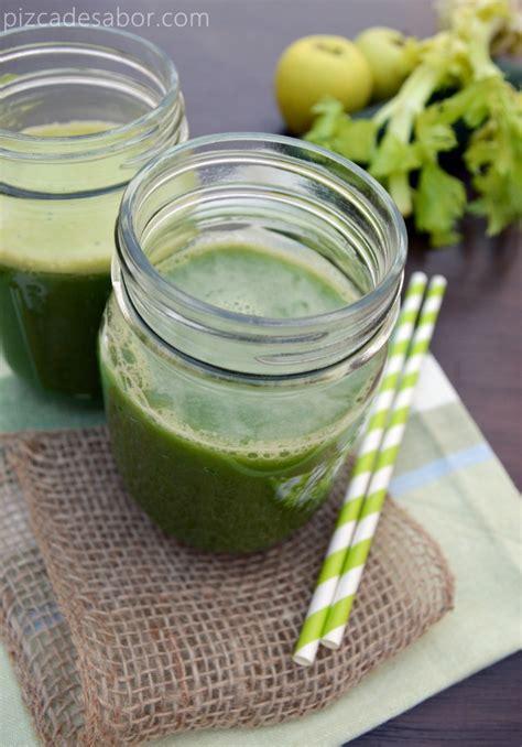 imágenes de jugos verdes jugo verde saludable receta f 225 cil y deliciosa