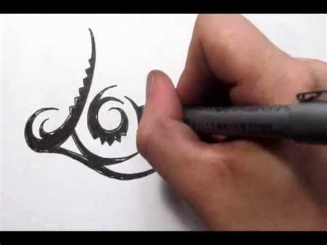 tribal tattoo for love word tattoos design in cool tribal writing