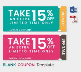 Free Template For Coupons by Blank Coupon Templates 26 Free Psd Word Eps Jpeg