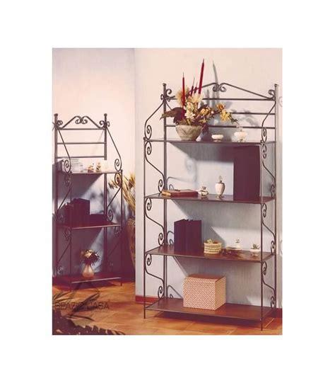 etagere in ferro battuto etagere libreria scaffale in ferro battuto con ripiani in